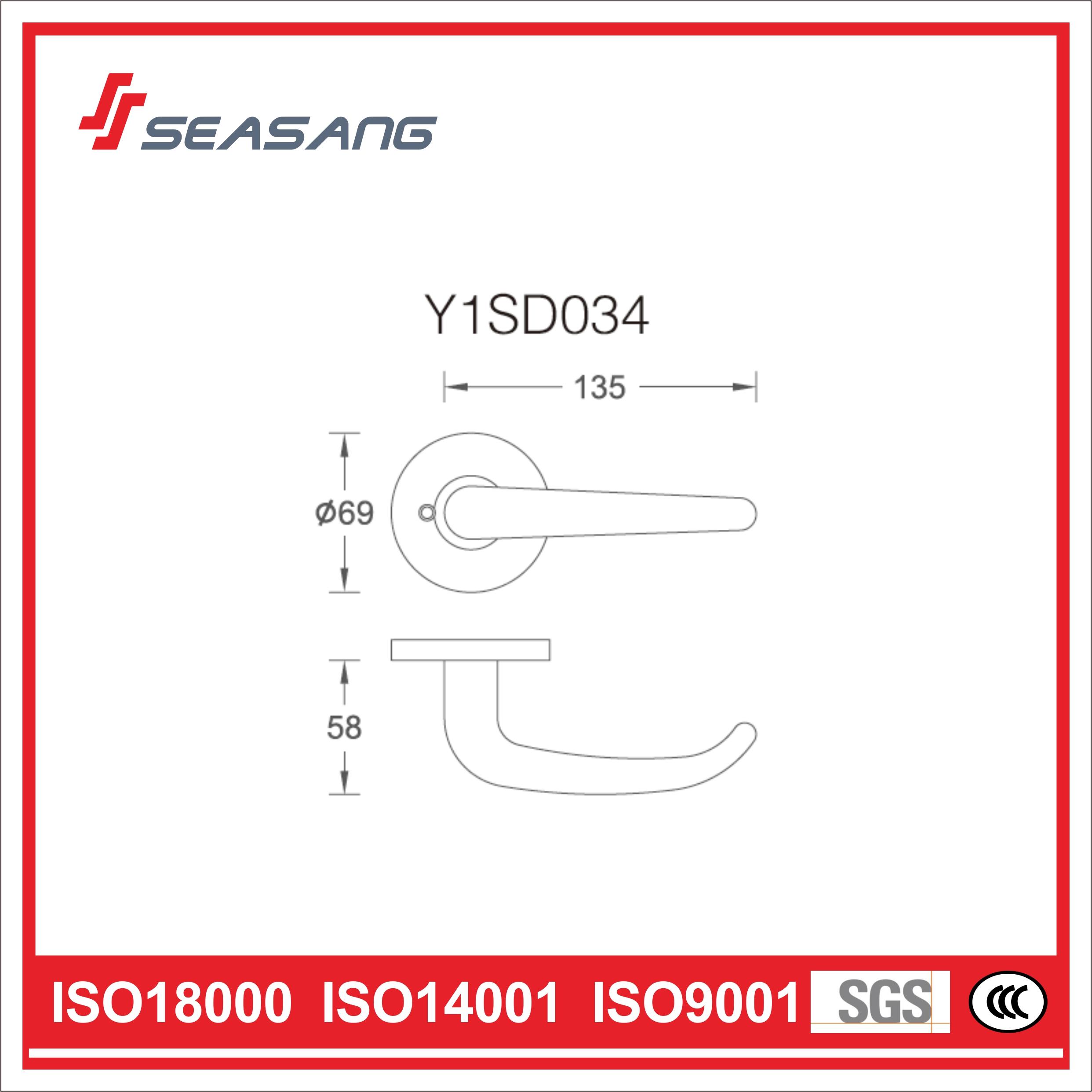 Stainless Steel Bathroom Handle Y1SD034