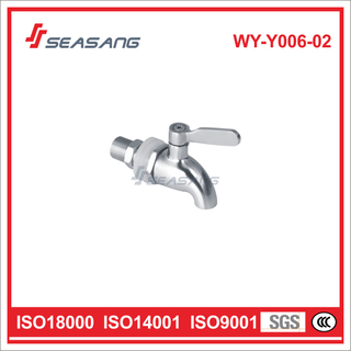 Stainless Steel Wall-Mounted Cold Water Washing Machine Faucet