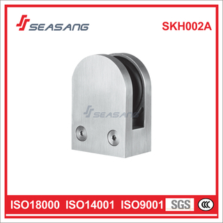 High Quality Bathroom Door Hinge Stainless Steel Glass Clip Skh002A