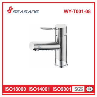 Mirror Polished Shiny Bathroom Basin Sink Faucet Wash Hand Mixer
