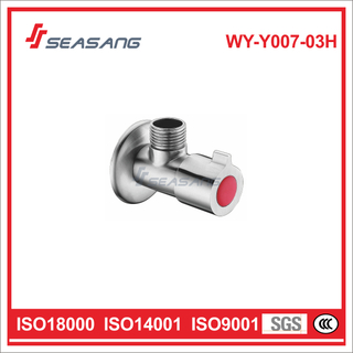 SUS304 Stainless Steel Plumbing Angle Valve for Cold Water
