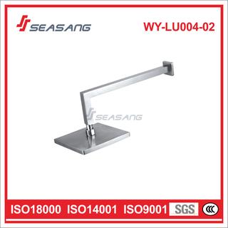 """Lead Free 304 Stainless Steel Bathroom Square Rain Bathtub 8"""" Showerhead"""