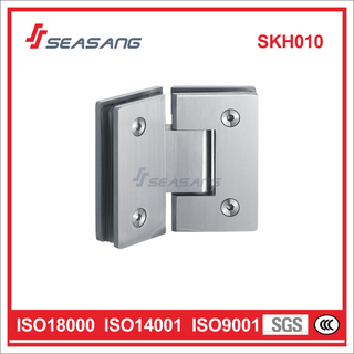 Stainless Steel Connector Hardware Bathroom Glass Shower Door Hinge Skh010