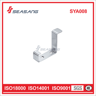 High Quality Stainless Steel Door Stop with Coat Hook Sya008